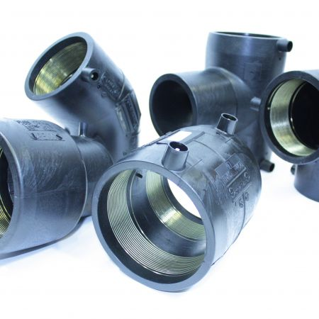 Electrofusion fittings for non potable water pipes